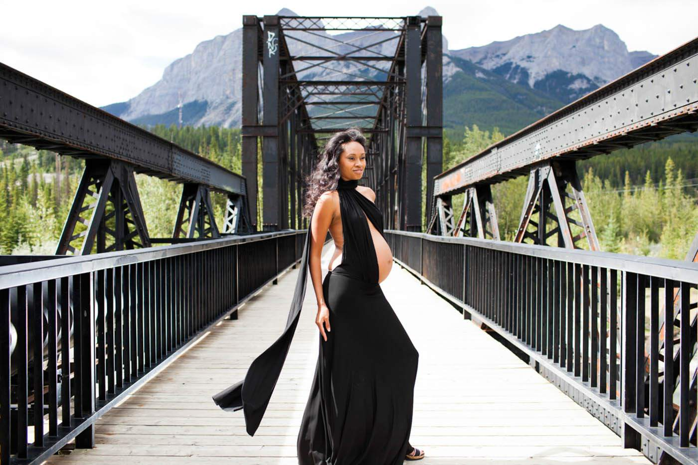 Photography in Canmore maternity