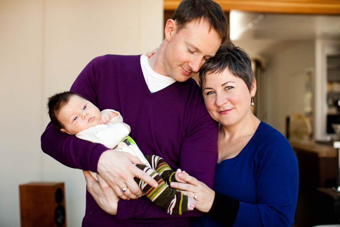 Calgary Newborn Family Photography